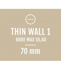 Thin Wall 1 - Bore Max 18,40 - Compatible with Briley S1