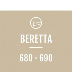 Evolution Stock - Calcio regolabile per Beretta serie 680 e 690